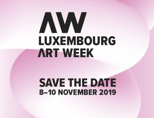 Luxembourg Art Week 8-10 November 2019